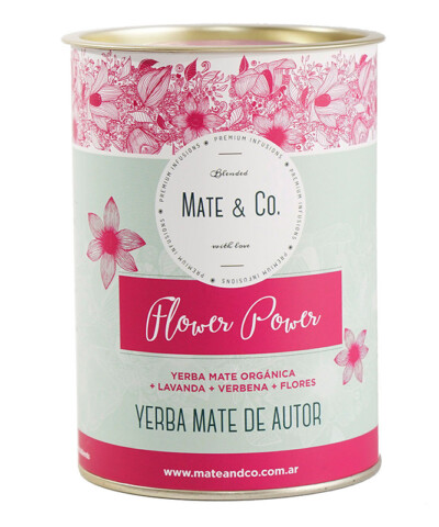 Yerba Flower Power Lata @ Mate & Co.