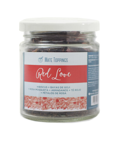 Red Love mate topping