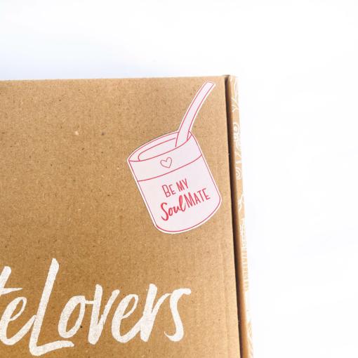 caja combo San Valentin mate